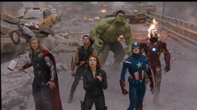 The Avengers color wheel