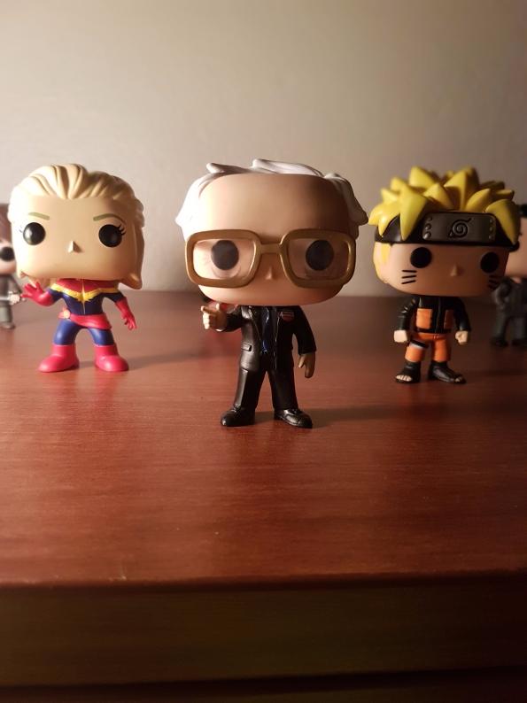 Bernie Sanders (centre), Naruto (right), Captain Marvel (left)